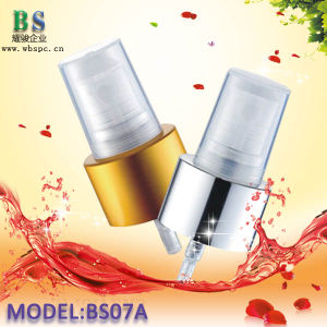 20/410 Gold Aluminum Smooth Mist Sprayer Pump for cosmetic Packaging pictures & photos