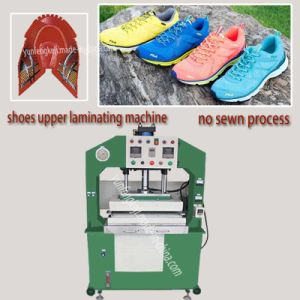 Woman Fabric Sport Shoes Hydralic Heat Pressing Forming Machine