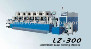 Lz-300 Intermittent Label Printing Machine pictures & photos