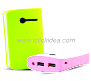High Quality 6000mAh USB Power Bank, Universal Portable Power Bank Charger