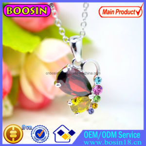 Silver Crystal Roller Skate Pendant Necklace Jewelry #B312 pictures & photos