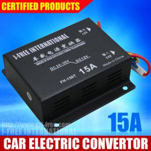 15A, 2015 Hot Sale Car Buck DC 24V DC12V Converter