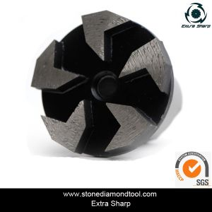 Diamond Arrow Segment Grinding Plug for Concrete Floors pictures & photos