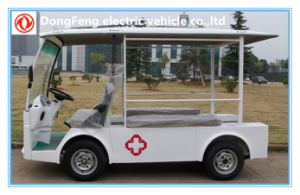 China Manufacture 2 Passengers Electric Ambulance Car pictures & photos