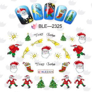 Water Transfer Foil Nail Art Sticker Christmas Snowflake Santa Snowman Tree pictures & photos