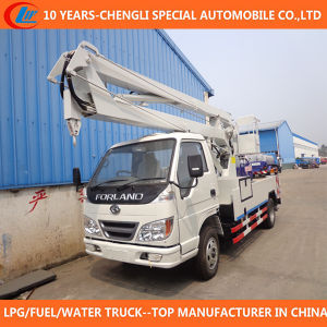 6 Wheels China 14m 16m Bucket Truck for Sale pictures & photos
