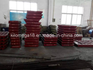 Jaw Crusher Spare Parts Fixed Jaw Plate for Sale pictures & photos