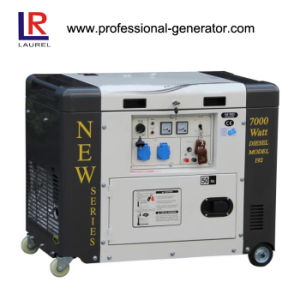 6.5kVA Generator Portable Air-Cooled Diesel Power Generator pictures & photos