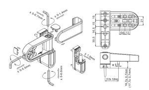 Best Durable Hinge Hl6101 for Aluminum Door & Window pictures & photos