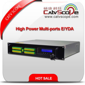 High Performance 32ports High Power 1550nm 2u Erbium Ytterbium Co-Doped Optical Amplifier EDFA