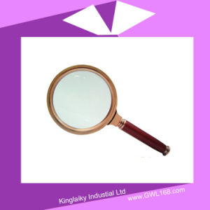 Customized Simple Magnifier Magnifying Glass for Gift (KHA-011) pictures & photos