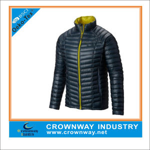 Light Lightweight Quilted Mens Down Jacket for Winter pictures & photos