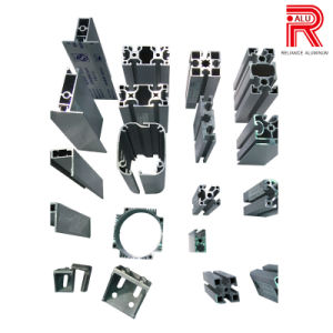 50X50 Aluminum/Aluminium Extrusion Modular Profiles for Automative Line pictures & photos