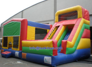 0.55m PVC Inflatable Bouncer with Blower (A189) pictures & photos