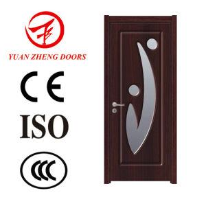 Single Wooden Door Design Glass Wood Door PVC Door pictures & photos