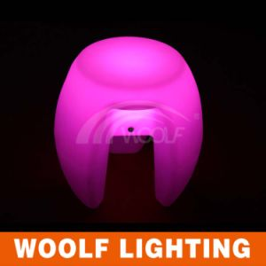 Colorfull LED Plastic Chair/Illuminated Ledchair/Lighting LED Chair pictures & photos