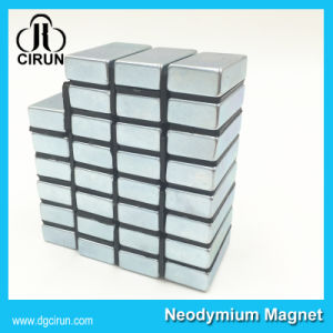 Custom Size Strong N52 Neodymium Block Magnet pictures & photos