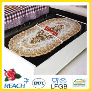 PVC Lace Placemat with Gold Coated (JFCD-034) pictures & photos