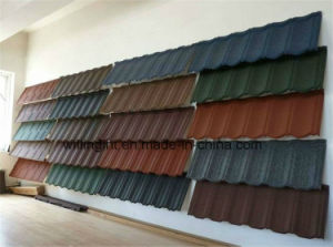 Colorful Corrugated Galvanized Steel Sheet Stone Coated Tile pictures & photos