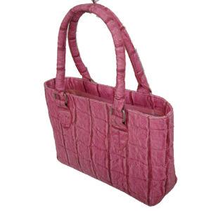 Crocodile Pattern PU Handbag with Foam Padded pictures & photos