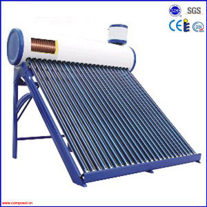 Popular 30 Tubes Pre-Heated Copper Coil Pressurized Solar Water Heater pictures & photos