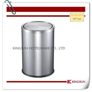 Stainless Steel Waste Bin for Home Use Db-735bb pictures & photos