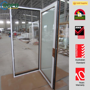High Quality Materials UPVC Insulated Glass Doors pictures & photos