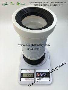 "52019 Black 4"" Toilet Pan Connector, Toilet Pipe, Toilet Hose pictures & photos"