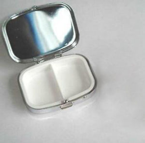 2017 New Design of Stainless Steel Pill Box pictures & photos