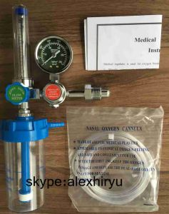 Oxygen Gas Pressure Regulator, Oxygen Regulator Medical Equipment pictures & photos