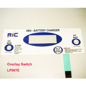 Overlay Membrane Switch Panel Electric Switch pictures & photos