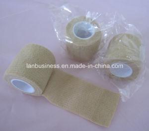 Ly-Ecp Cotton Crepe Elastic Cohesive Gauze Bandage pictures & photos