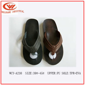 2016 Fashion Design High Prasie Male Flip Flops pictures & photos