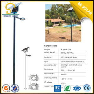 Economical Type 45W LED Light with Solar Panel pictures & photos