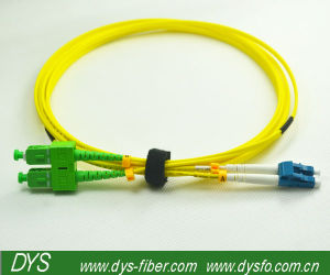 Sc APC-LC Upc Fiber Optic Patch Cord pictures & photos