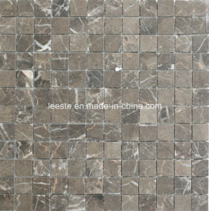 Brown Square Marble Mosaic Tile and Mosaic Wall Decoration pictures & photos