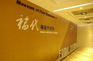 Fluor-Carbon Painting Door Stainless Steel Door (HEF-007) pictures & photos