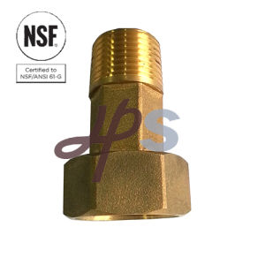 NSF-61 Free Lead Brass Water Meter Fitting for Drinking Water System pictures & photos