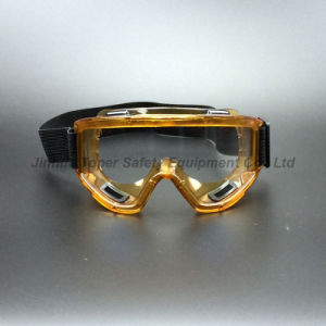 Wide View Size Safety Goggles with Indirect Vents (SG142) pictures & photos
