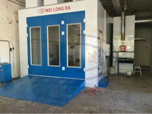 Water Based Car Paint Booth with Cheap Price Wld8400 pictures & photos