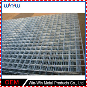 Galvanized Woven Wire Mesh Square Stainless Steel Crimped Wire Mesh for Hog Floor pictures & photos