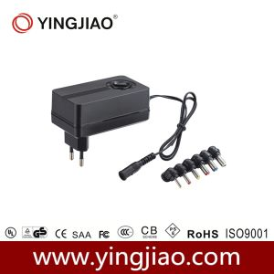 24W DC Variable Power Adaptor with CE pictures & photos