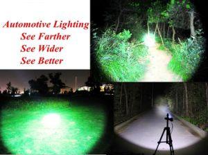 Motion Sensor CREE LED Headlamp Adjustable Strip Waterproof Head Lamp Light 3*AAA Headlight pictures & photos