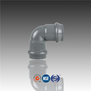 PVC Elbow 90 Deg Flexible Joint Fitting Using for Irrigation pictures & photos