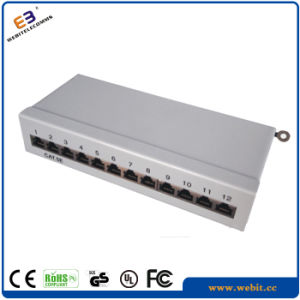 """10"""" 12 Ports STP Cat5e Patch Panel with 110 IDC pictures & photos"""