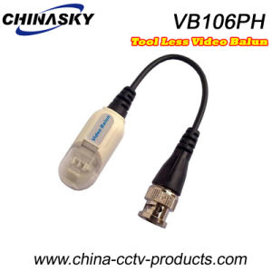 Single Channel Toolless Video Balun Transceiver Over Cat5 (VB106P) pictures & photos