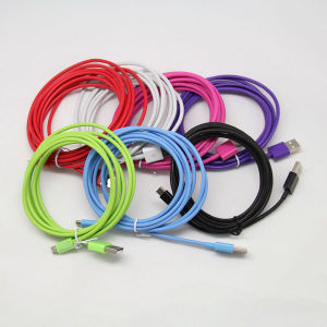 2m 3m Thickness Colorful Micro USB Cable for Samsung pictures & photos