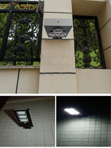 9W-a Waterproof Outdoor Solar Lightings with Motion Sensor pictures & photos