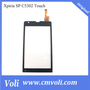Touch Screen Digitizer for Sony Sp C5302 in Black & White pictures & photos