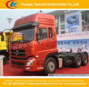 Heavy Duty Dongfeng 6*4 Towing Truck Tractor pictures & photos